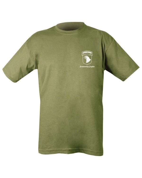 Airborne Tour T-shirt - Olive Green