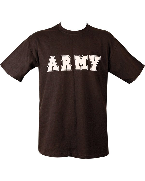 Army T-shirt - Black
