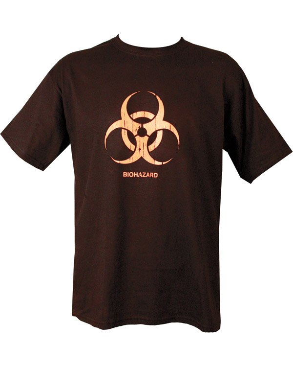 Biohazard T-shirt - Black