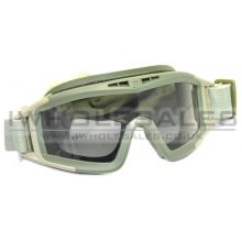 Clear Full Eye Glasses with Big Cotton Strap  with 3 Lenses (Green)