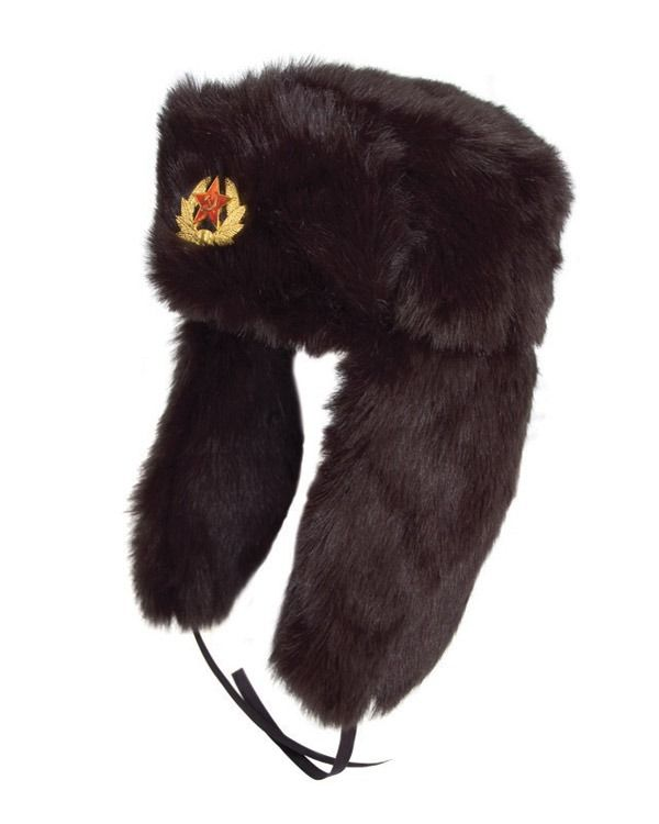 Cossack Hat - Black
