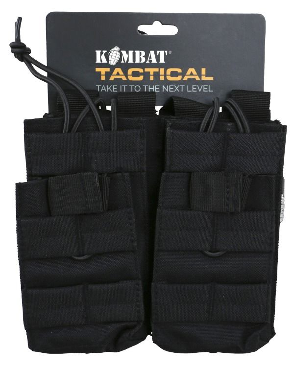 Double Duo Mag Pouch - Black   OUT OF STOCK