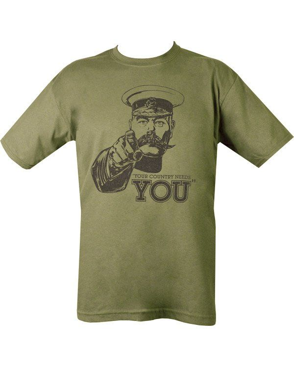 Kitchener T-shirt - Olive Green