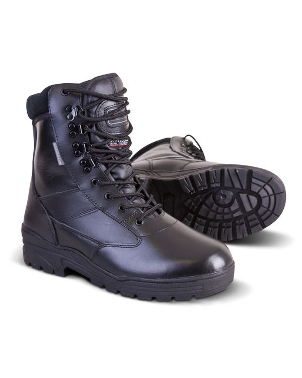 Patrol Boot - All Leather - Black