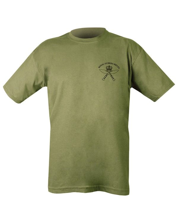 Royal Gurkha Rifles T-shirt - Olive Green