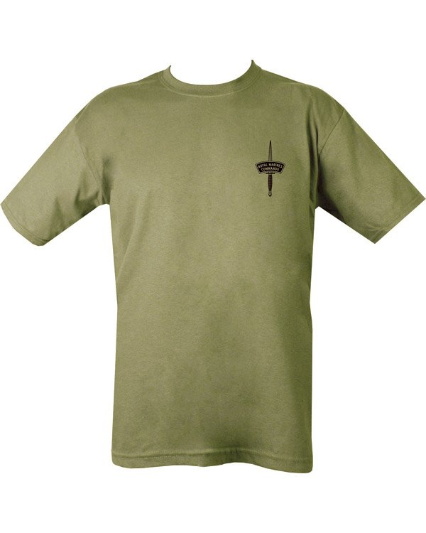 Royal Marines Commando T-shirt - Olive Green
