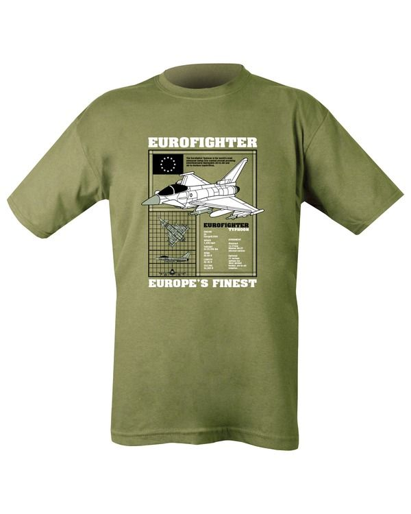 Typhoon T-shirt - Olive Green