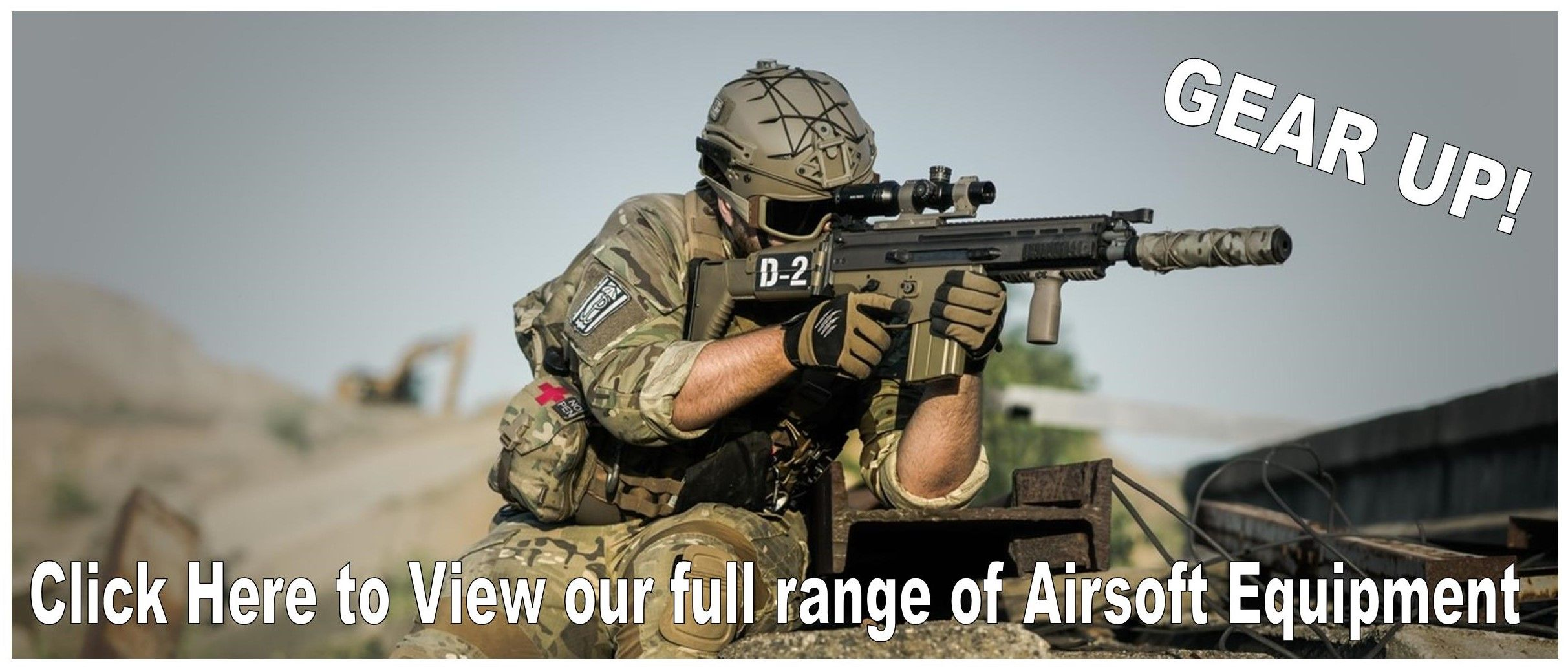 Airsoft Weapons and Accessories